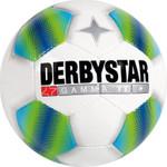 10er Paket Derbystar Fairtrade Gamma TT -weiß blau grün- Größe 5 001