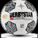 10er Paket Derbystar Brillant APS Eredivisie -weiß schwarz- Größe 5 001