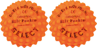 10er Paket Select Ball-Punktur, 2er Set -orange- Umfang: 28 cm – Bild 1