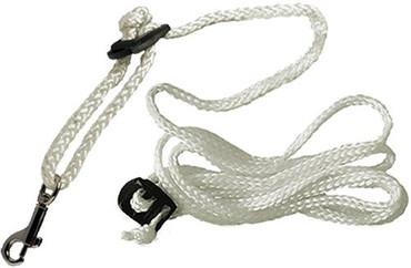 10er Paket Derbystar Ersatzleine für Swing -weiß- 2 m