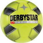10er Paket Derbystar Miniball -gelb schwarz silber- 47 cm