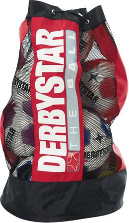 10er Paket Derbystar Ballsack 10 Bälle -rot- Für 10 Bälle