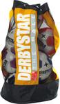 10er Paket Derbystar Ballsack 10 Bälle -gelb- Für 10 Bälle 001