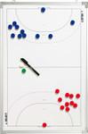 10er Paket Select Taktiktafel Aluminium Handball -weiß- 90 x 60 cm 001