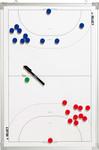 10er Paket Select Taktiktafel Handball -45 x 30 cm- 001
