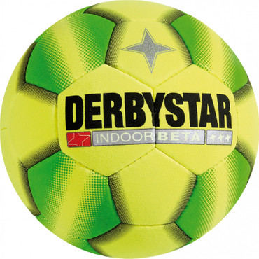 10er Paket Derbystar Indoor Beta -gelb grün-