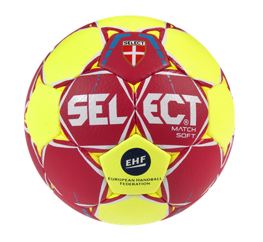 10er Paket Select Match Soft -rot gelb weiß-