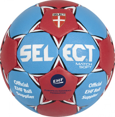10er Paket Select Match Soft -blau rot-