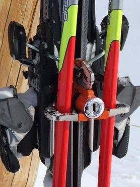 Loqski Ski & Stock Schloß - Blau – Bild 3