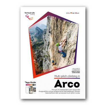 Multi-pitch climbing in Arco 1. Edition 2017  (inkl. App Version) – Bild 1