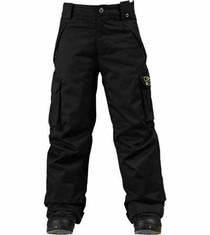 Burton Boys Exile Cargo Pant, black