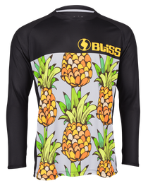 Comp Team Jersey l/s, ananas black