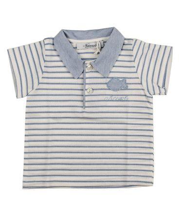 Ninnaoh Polo - weiss/blau