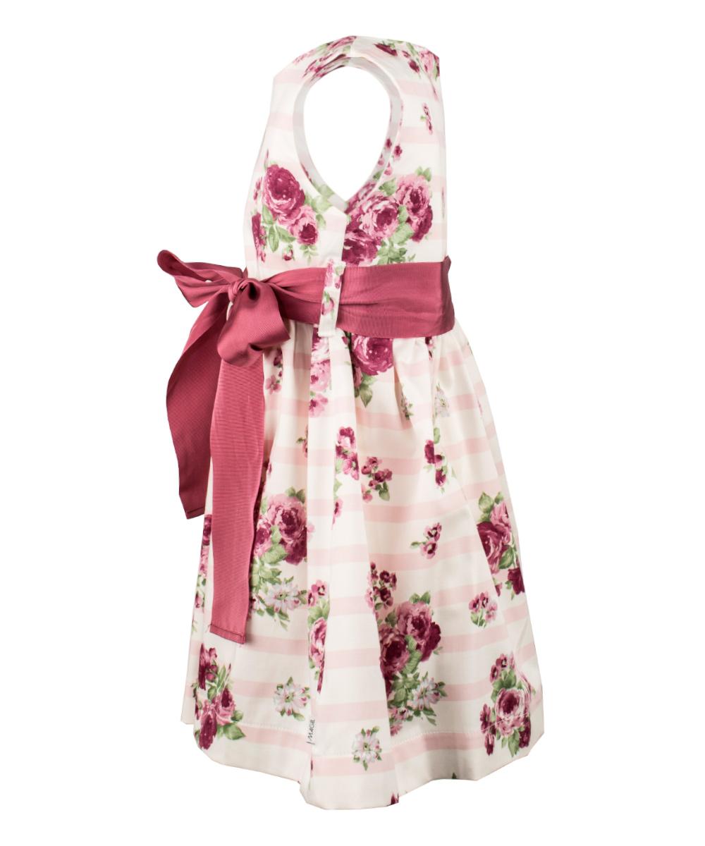 Magil Kleid - rosa / weiss – Bild 2