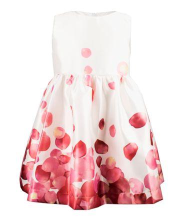 Magil Kleid mit floralem Muster - weiss / pink