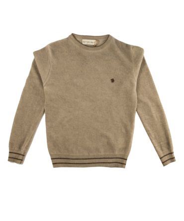 Cotton Belt Pullover - sand