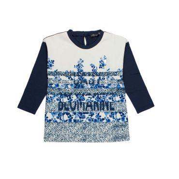 Blumarine Baby langarmshirt - weiss