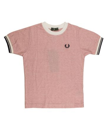 Fred Perry T-Shirt - rot