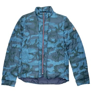 Brest Übergangsjacke Camouflage - blau