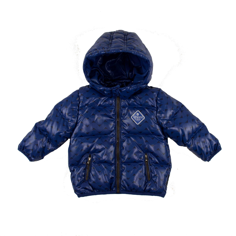 detailed look d28a4 210e2 Armani Daunenjacke – blau Baby Boys (0M - 2J) Kleidung ...