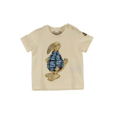 Moncler Baby T-Shirt - weiss