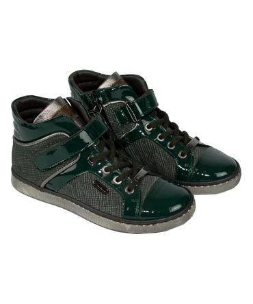 Santoni Sneaker - dunkelgrün