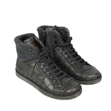 Santoni Sneaker - grau