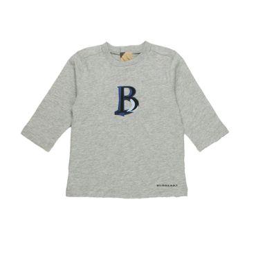 Burberry Langarmshirt - grau