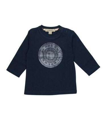 Burberry Langarmshirt - dunkelblau