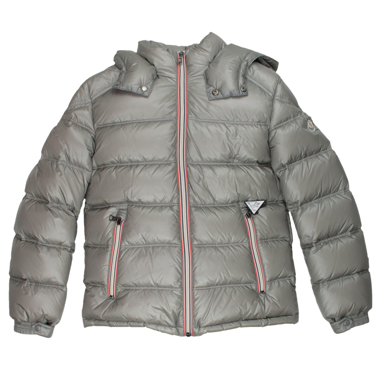 premium selection c9845 df7cd Moncler Daunenjacke Gaston - grau Jungen (3-16J) Kleidung ...