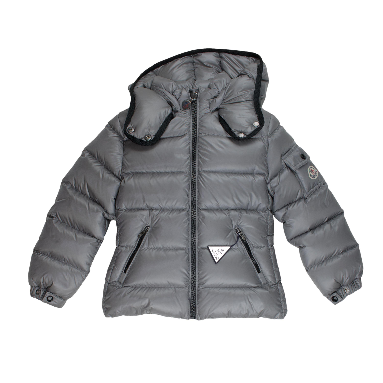 promo code 3152d 8d5f7 Moncler Daunenjacke Berre - grau Mädchen (3-16J) Kleidung ...