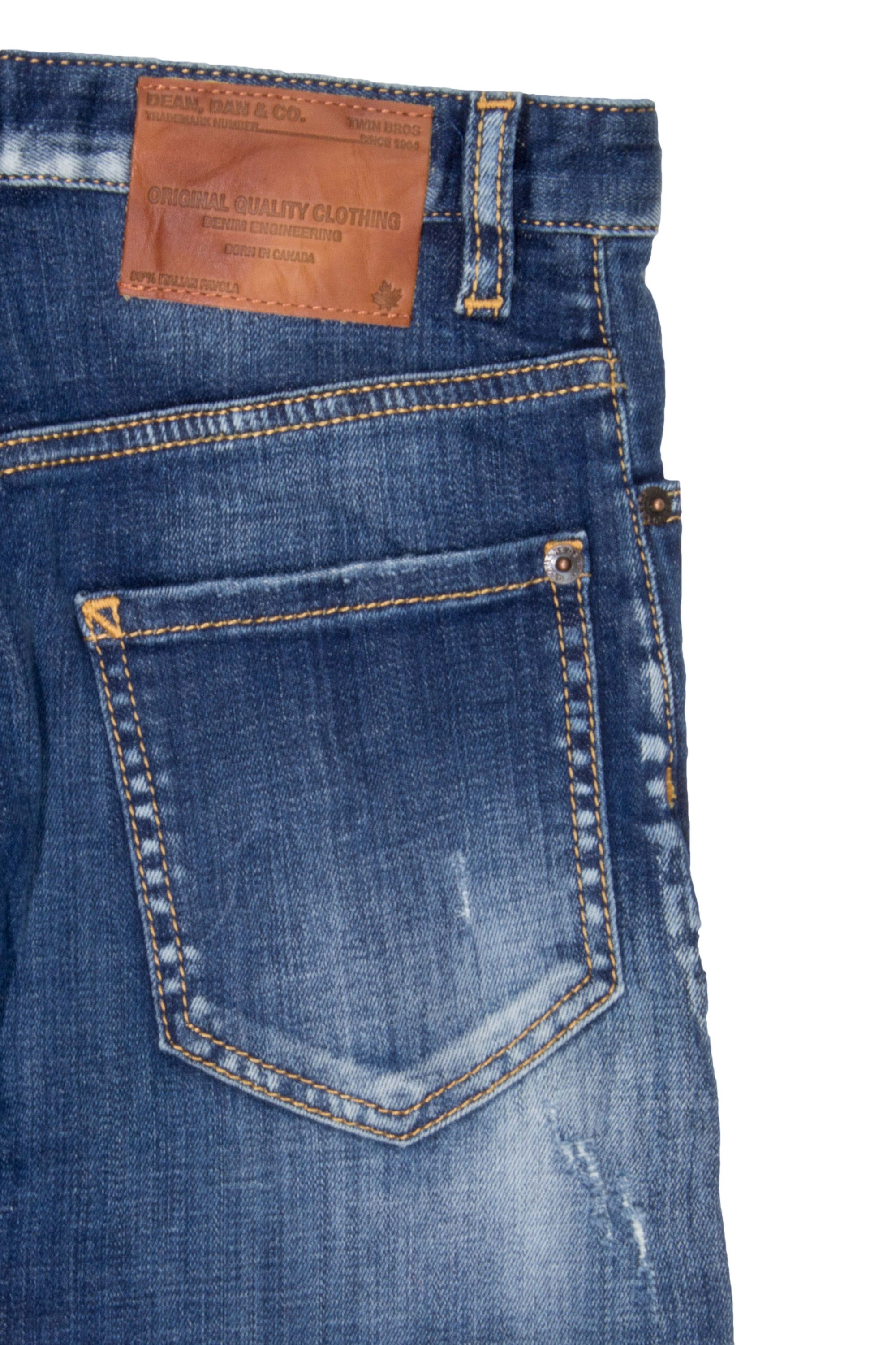 Dsquared2 Stretch Kenny Twist Jeans Destroyed-Look – Bild 3