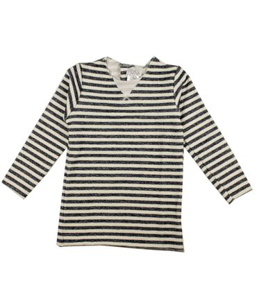 Magil Pullover - weiss / navy