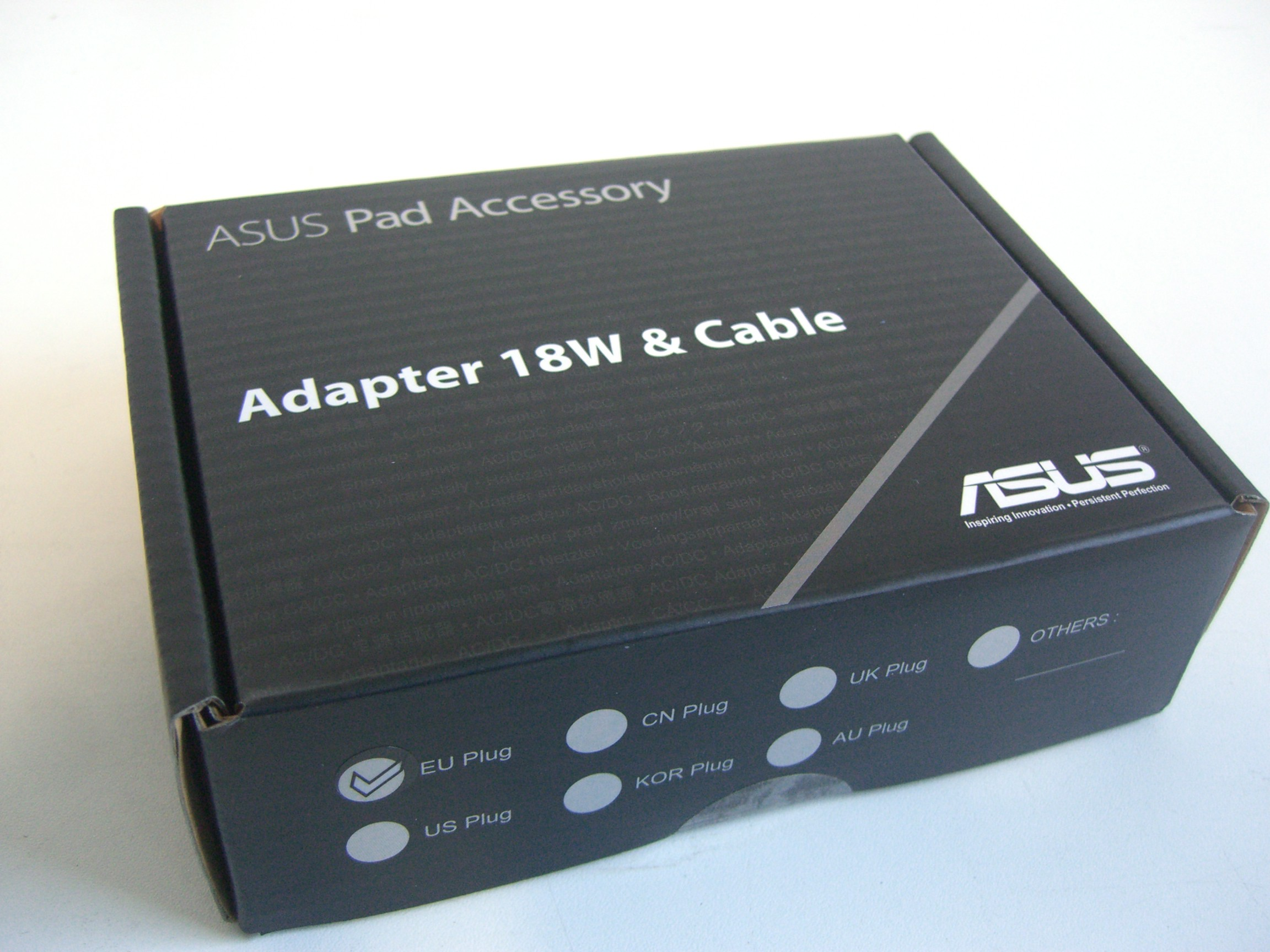 asus adapter 18w cable nexus 7 by asus tablet vivo neu. Black Bedroom Furniture Sets. Home Design Ideas