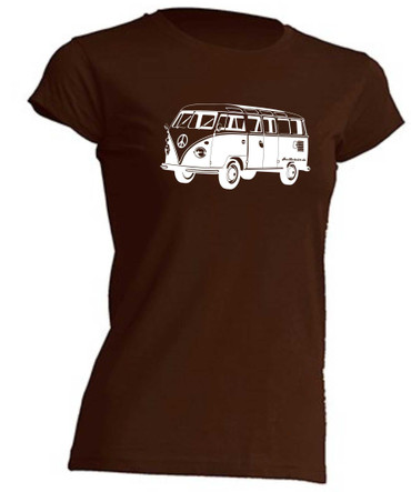 T1-Bus Girly T-Shirt Busliebe24 – Bild 3
