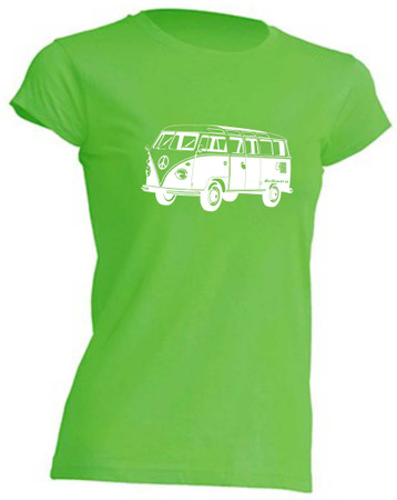 T1-Bus Girly T-Shirt Busliebe24 – Bild 6