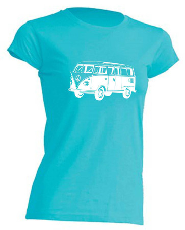 T1-Bus Girly T-Shirt Busliebe24 – Bild 8
