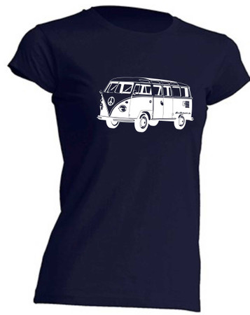 T1-Bus Girly T-Shirt Busliebe24 – Bild 4
