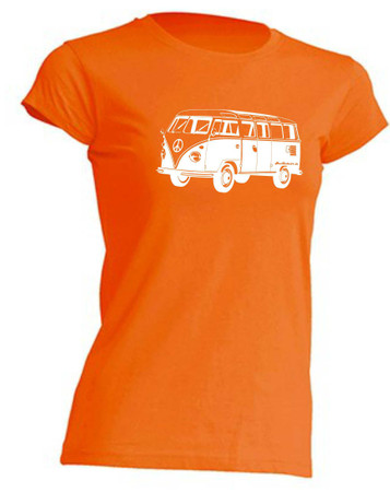 T1-Bus Girly T-Shirt Busliebe24 – Bild 1