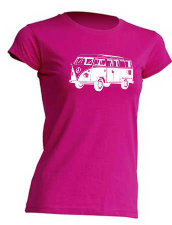 T1-Bus Girly T-Shirt Busliebe24 – Bild 9