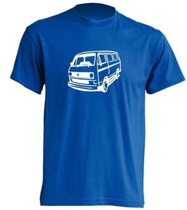 T3-Bus mit runden Scheinwerfern T-Shirt Busliebe24 – Bild 8