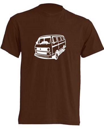 T3-Bus mit runden Scheinwerfern T-Shirt Busliebe24 – Bild 5