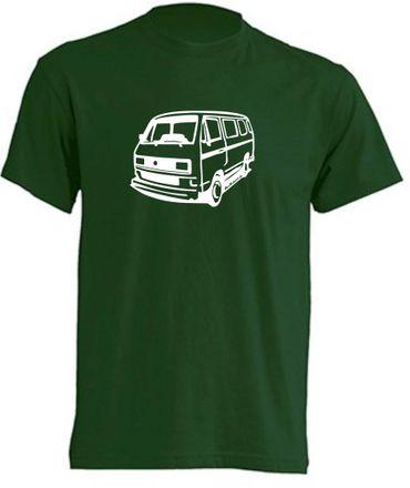 T3-Bus  eckigen Scheinwerfern T-Shirt Busliebe24 – Bild 5