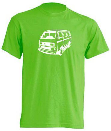 T3-Bus  eckigen Scheinwerfern T-Shirt Busliebe24 – Bild 7