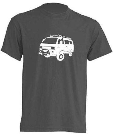 T3 Syncro-Bus T-Shirt Busliebe24 – Bild 2