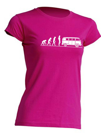 Evolution Lady T1-Bus T-Shirt Busliebe24 – Bild 1