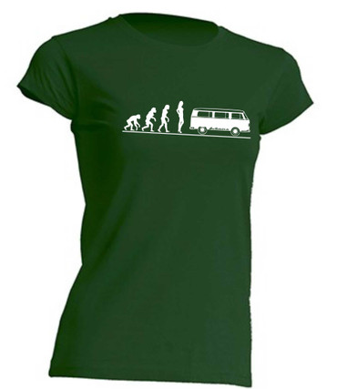 Evolution Lady T2-Bus T-Shirt Busliebe24 – Bild 5