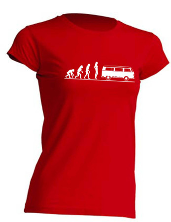 Evolution Lady T2-Bus T-Shirt Busliebe24 – Bild 1