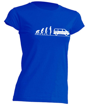 Evolution Lady T4-Bus T-Shirt Busliebe24 – Bild 2