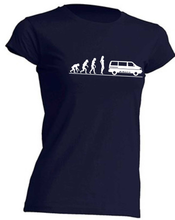 Evolution Lady T4-Bus T-Shirt Busliebe24 – Bild 4